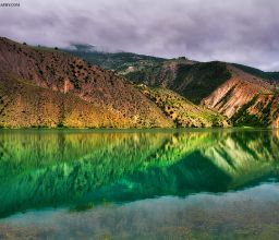 Calm Reflect / Valasht Lake / IRAN