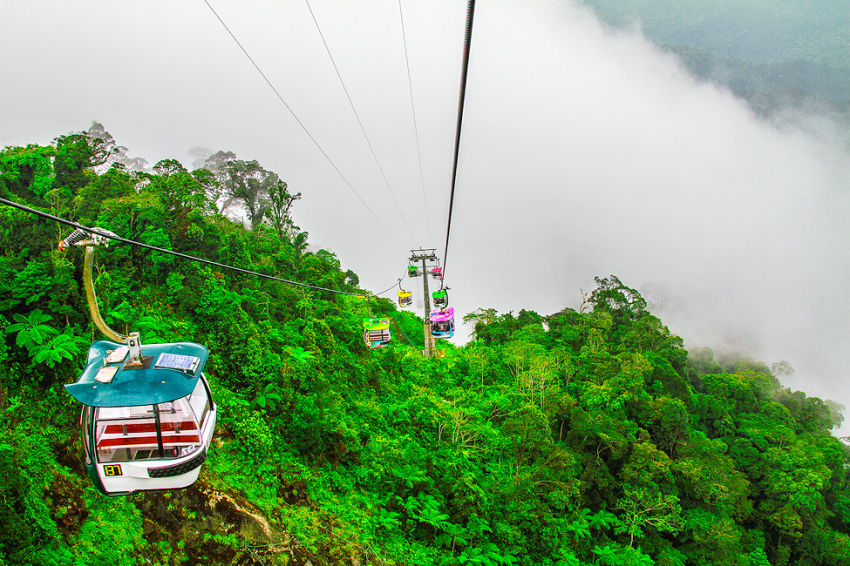 Highest telecabine of Asia